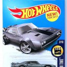 Hot Wheels - Ice Charger: HW Screen Time #2/10 - #266/365 (2017) *Dark Gray*