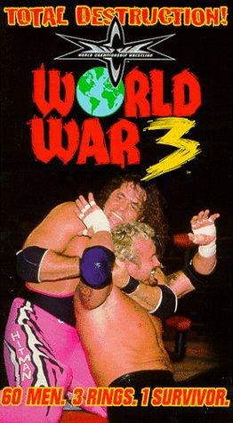 WCW/NWO ORIGINAL WRESTLING VHS WORLD WAR 3 1998
