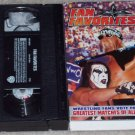 WCW FAN FAVORITES ORIGINAL WRESTLING VHS