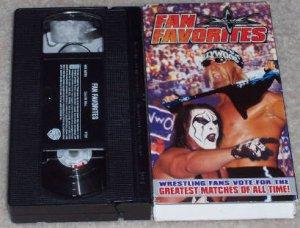 WCW FAN FAVORITES ORIGINAL WRESTLING VHS