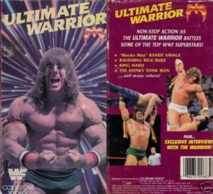 ORIGINAL WWF/WWE WRESTLING VHS ULTIMATE WARRIOR (1989)