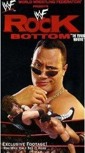 WWF/WWE ORIGINAL WRESTLING VHS ROCK BOTTOM IN YOUR HOUSE