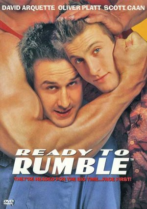 ORIGINAL COMEDY WRESTLING FILM DVD READY TO RUMBLE