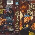 WWF-WWE THREE FACES OF FOLEY ORIGINAL WRESTLING VHS