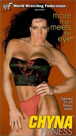 WWF-WWE CHYNA FITNESS ORIGINAL WRESTLING VHS