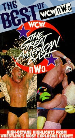 BEST OF WCW/nWo GREAT AMERICAN BASH ORIGINAL WRESTLING VHS