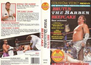 WWF-WWE BRUTUS THE BARBER BEEFCAKE ORIGINAL WRESTLING VHS
