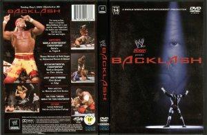 WWE/WWF BACKLASH 2005 ORIGINAL WRESTLING DVD