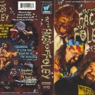 WWF-WWE THREE FACES OF FOLEY ORIGINAL WRESTLING VHS