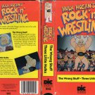 ORIGINAL WWF-WWE VHS HULK HOGAN ROCK &#39;N&#39;WRESTLING THE WRONG STUFF - THREE LITTLE HULKS