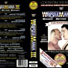 WWF-WWE WRESTLEMANIA III COLISEUM VIDEO ORIGINAL WRESTLING VHS