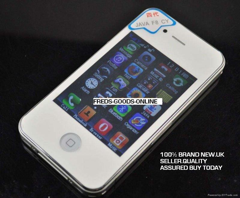 F8 mobile quadband dual sim phone.