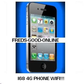 "I68 4G mobile quadband dual sim phone.Touch screen"" WIFI"" QUALITY ITEM"