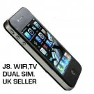 "I68 4G J8 mobile quadband dual sim phone.Touch screen"" WIFI"" QUALITY ITEM"