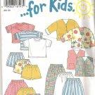 New Look 6398 Pattern Boys Girls Jacket, Vest, Top, Skirt, Pants, Shorts Size 2-7 Cut to 7