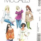 2006 McCalls 5050 Pattern Peasant Boho Gypsy Hippie Top & Tunic Size LG-XLG Uncut