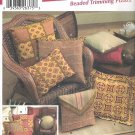 2003 Simplicity 5685 Pattern 12 Easy Pillows Square, Round, Rectangle, Square, Envelope  Uncut
