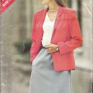 Butterick 3537 Pattern See & Sew Jacket and Sleeveless Elastic Waist Dress Size 14-18   Cut to 18