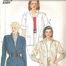 Butterick 6463 Pattern Short or Long Sleeve Unlined Jacket  Size 8  Cut