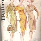 Butterick 2535  Vintage Pattern Sheath Dress  Size 10-20 for Tall, Medium, Short  Partially Cut Med