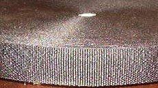 "1 1/2""  Black Nylon Webbing for Purse, Handbag, Pocketbook, Tote Handles"