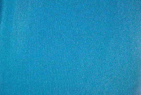 "Turquoise Raw Silk (?) Fabric  2 1/16 yds x 45"" wide"