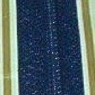 "16"" J&P Coats Navy Metal Separating Zipper"