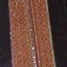 "16"" J&P Coats London Tan All Purpose Polyester Zipper"