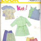 New Look 6931 Pattern Sleep Pants Shorts T-Shirt Tank Top Robe Size 3-8  Uncut