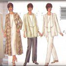 Butterick 6473 (2000) Misses/Petite Plus Size Pattern Jacket Duster Top Dress Pants 18-22  Uncut