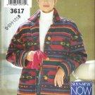 Butterick 3617 (1994) Pattern Easy Jacket Coat  L-XL  Uncut