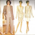 Butterick 4154 (1995) Plus Size Pattern Fast & Easy Wardrobe Jacket Top Skirt Pants  18-22  Uncut