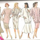 Butterick 5725 (1987) Misses/Petite Vintage Plus Size Pattern Cardigan Top Skirt Dress  18-22  Uncut
