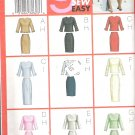 Butterick 6870 (2001) Pattern Misses/Petite Plus Size Top Skirt  20-24  Uncut