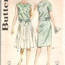 Butterick 2684 Vintage Pattern Back Button Over-Blouse Straight Pleated Skirt Size 12  Uncut