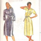 Butterick 3610 Pattern Long Short Sleeve Front Button Dress Size 10 Part Cut