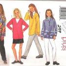 Butterick 3322 (2001) Pattern Girls Plus Sizes Top Jacket Skirt Pants 7-14  Uncut