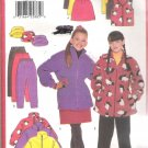 Butterick 5102 (1997) Pattern Girls Jacket Vest Skit Pants Hat Cut to Size 8