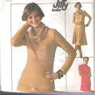 Simplicity 7750 (1976) Vintage Pattern Knit Pullover Dress Top Skirt  Size 12-14  Uncut