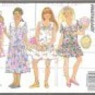 Butterick 6180 (1992) Pattern Girls Wide Tie Collar Dress Jumper Size 7-10 Uncut