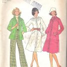 Simplicity 7261 (1975) Vintage Pattern Neck Bodice Tucks Dress Shirt Top Pants Size 10 Uncut