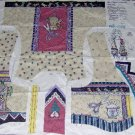 Daisy Kingdom Sew Cozy Vest Panel  Sewing Motif with Instructions 1 yd