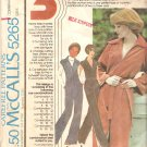 7265 McCalls Vintage (1976) Jumpsuit Pattern Front Zipper Raglan Sleeves Size 6-10 Uncut
