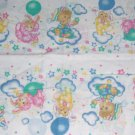 Bunnies, Lambs, Bears Clouds Ballons Baby Sheeting Print Fabric