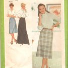 Simplicity 9070 (1979) Vintage Pattern Skirt in Three Lengths Size 12  Uncut