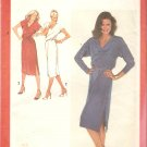 Simplicity 9285 (1979) Pullover Dress Side Button Elastic Waist Tie Belt Pattern Size 10  Uncut