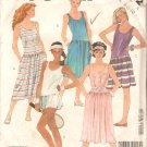 McCalls 2042 (1985) Low Waist Sleeveless Pullover Dress Panties Pattern Size 6 8 10 Part Cut to 10