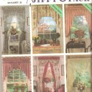 Simplicity 7946 (1992) Curtains Drapes Toppers Swags Window Treatments Pattern  Cut