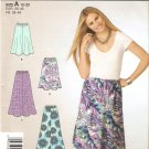 Simplicity 2210 (2011) Easy Pull-on Skirt in Two Lengths Pattern Size10 12 14 16 18 20 Cut to 20