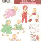 Simplicity 4707 (2004) Vintage Reprint Doll Dress Coat Top Overalls Pajamas Pattern S-M-L UNCUT